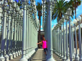 LA California LACMA Urban Lights