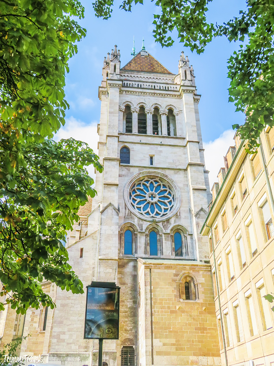 St Pierre Cathedral Geneva