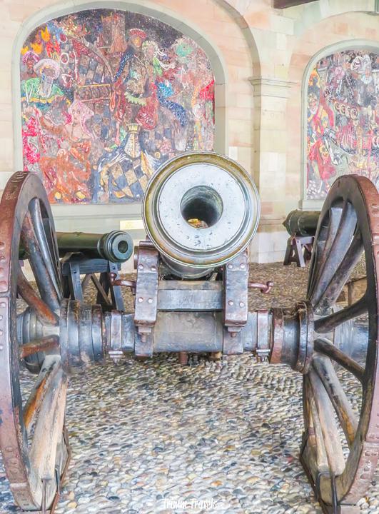 Old Arsenal Canon Geneva