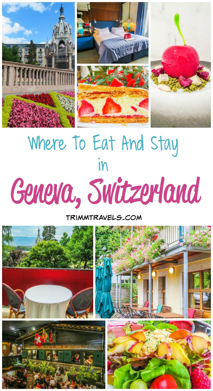Where To Eat Stay Geneva Switzerland Title
