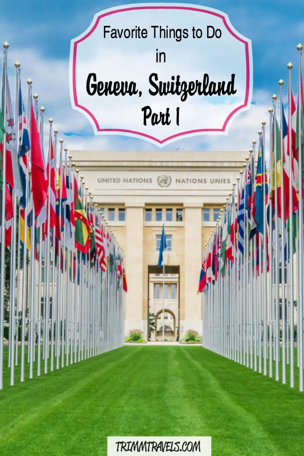 Recently I had the chance to go to Geneva, Switzerland! There are so many fantastic bucket list items to do here that you won't want to miss so check out my favorite things to do in Geneva! #geneva #switzerland #europe #whattodo #thingstodo #activities #bucketlist #favorites #travel #destinations