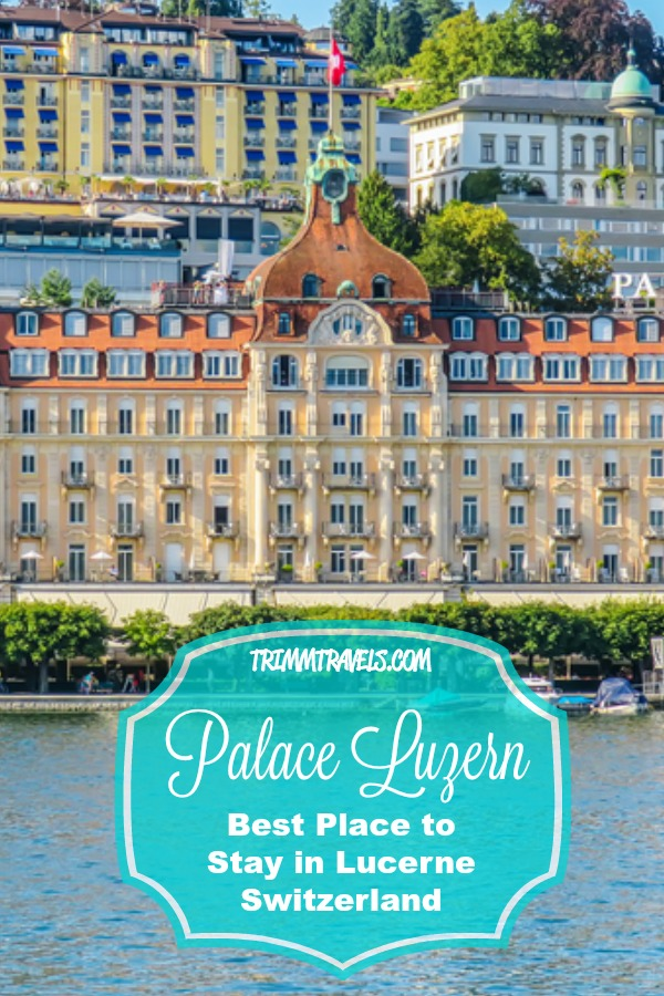 If you get the chance to visit Lucerne, Switzerland, I highly recommend staying at the Palace Luzern! I can't even begin to describe how great our experience was there! #luzern #lucerne #switzerland #europe #palaceluzern #hotels #accommodations #luxury #wheretostay #travel #destinations