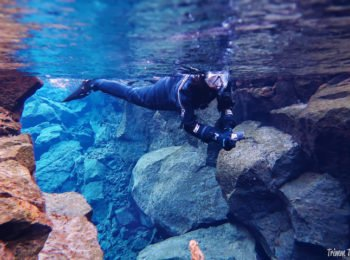 Snorkeling Silfra. Two interesting, powerful words. You have GOT to see why Silfra with DIVE.IS is a MUST in Iceland...a day trip you will remember always! #silfra #snorkel #snorkelingsilfra #reykjavik #iceland #icelandic #daytrips #dive