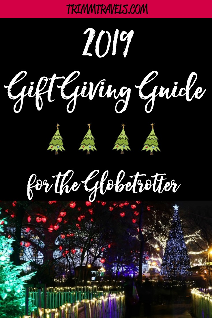 Meeting all of your needs this holiday season with my 2019 gift giving guide for the globetrotter in your life. Make adventure easy for your traveler! #giftguide #gift #christmas #holiday #travelgifts #gifts #travel #globetrotter