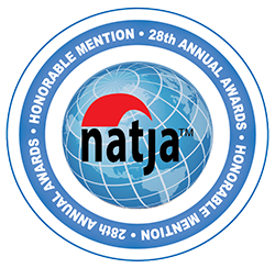 NATJA Awards Honorable Mention Photography-Trimm Travels